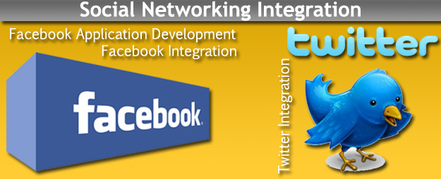Facebook Twitter Integration